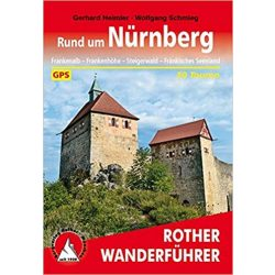 Nürnberg, Rund um túrakalauz Bergverlag Rother német   RO 4528