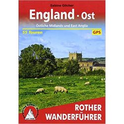 England Ost túrakalauz Bergverlag Rother német   RO 4529