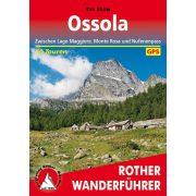 Ossola-Täler túrakalauz Bergverlag Rother német   RO 4538