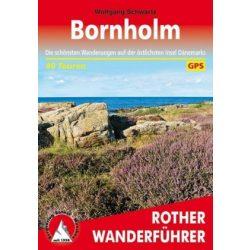 Bornholm túrakalauz Bergverlag Rother német   RO 4546