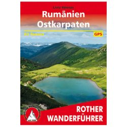 Rumänien I Ostkarpaten túrakalauz Bergverlag Rother német   RO 4547