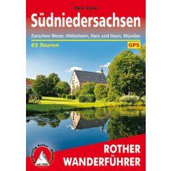 Niedersachsen Süd túrakalauz Bergverlag Rother német   RO 4552