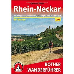 Rhein-Neckar túrakalauz Bergverlag Rother német   RO 4553