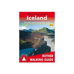 Iceland túrakalauz Bergverlag Rother RO 4802 Izland túrakalauz 2019 angol
