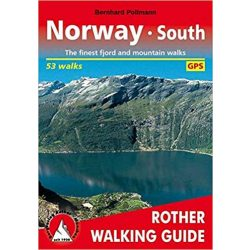 Norway South túrakalauz Bergverlag Rother angol   RO 4807