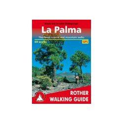 La Palma túrakalauz Bergverlag Rother angol   RO 4808