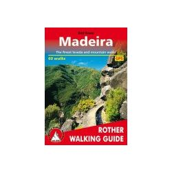 Madeira túrakalauz Bergverlag Rother angol   RO 4811