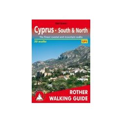 Cyprus – South and North túrakalauz Bergverlag Rother angol   RO 4814
