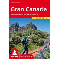 Gran Canaria túrakalauz Bergverlag Rother angol   RO 4816
