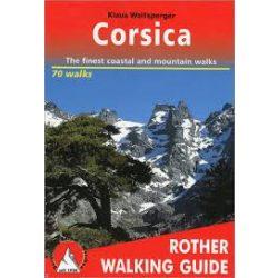 Corsica túrakalauz Bergverlag Rother angol   RO 4819