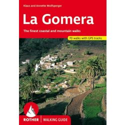 La Gomera túrakalauz Bergverlag Rother angol   RO 4823
