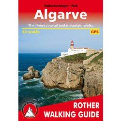 Algarve túrakalauz Bergverlag Rother angol   RO 4825