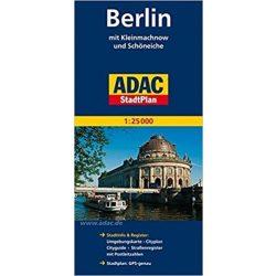Berlin térkép ADAC Berlin és környéke térkép 2016  1:100 000