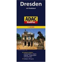 Drezda térkép ADAC 2014 1:20 000