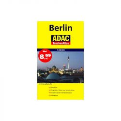 Berlin atlasz ADAC 2014  1:20 000