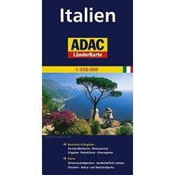 Olaszország térkép ADAC 1:650 000
