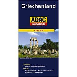 Görögország térkép ADAC 2014 1:800 000