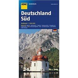 Németország térkép ADAC 1:650 000 2017