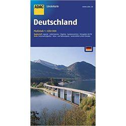 Németország térkép ADAC 1:650 000