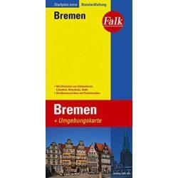 Bremen térkép Falk 1:16 000  2014-18