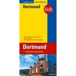 Dortmund térkép Falk 1:22 000  2015