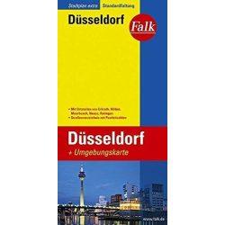Düsseldorf térkép Falk  1:20 000
