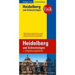 Heidelberg térkép Falk 1:20 000
