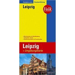 Lipcse térkép Falk  1:22 500  2014-18
