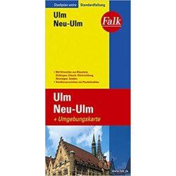 Ulm térkép Falk 1:17 500