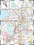 Orlando térkép Hallwag