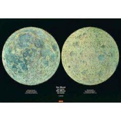 Hold falitérkép Hallwag 130x95