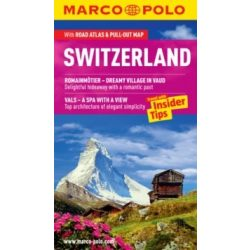 Svájc útikönyv Switzerland útikönyv Marco Polo, angol 2014