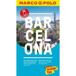 Barcelona útikönyv Marco Polo, angol 2018