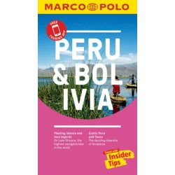 Peru útikönyv Marco Polo, angol 2017, Peru and Bolivia Marco Polo Pocket Guide