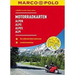 Alpok motoros atlasz Mair 2018 1:300 000