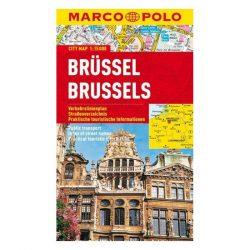 Brüsszel térkép vízálló Marco Polo 2018 1:15 000