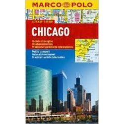 Chicago térkép Marco Polo 2013 1:15 000