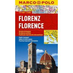 Florence, Firenze térkép vízálló Marco Polo 2015 1:15 000