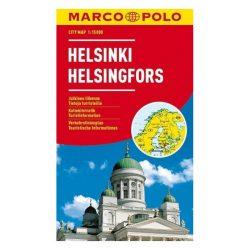 Helsinki térkép Marco Polo vízálló 2016 1:15 000