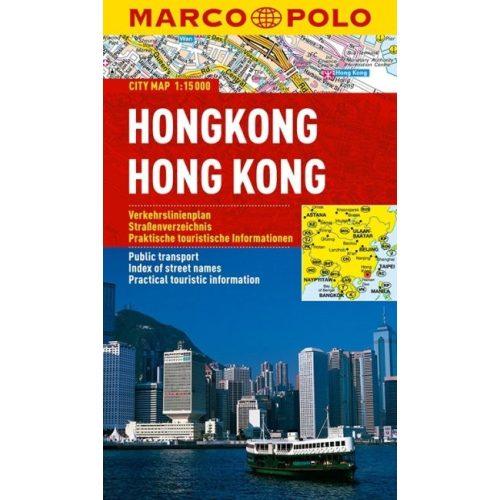 Hongkong térkép vízálló Marco Polo 2013 1:15 000