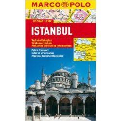 Istanbul Isztambul térkép Marco Polo vízálló 2014 1:7500