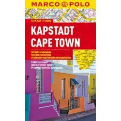 Cape Town térkép Marco Polo  Kapstadt térkép