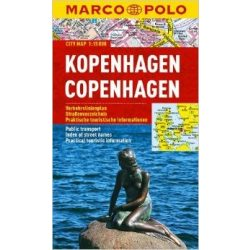 Koppenhága térkép Marco Polo vízálló  2017 1:15 000 Koppenhága várostérkép