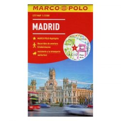 Madrid térkép Marco Polo vízálló 2015 1:15 000