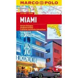 Miami térkép Marco Polo 2016 1:15 000