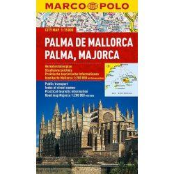 Palma de Mallorca térkép Marco Polo vízálló 2014 1:15 000