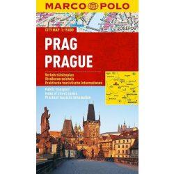 Prága térkép Marco Polo vízálló 2015 1:15 000