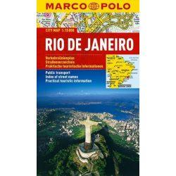 Rio de Janeiro térkép vízálló Marco Polo 2012 1:15 000