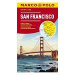 San Francisco térkép Marco Polo  1:15 000  2017