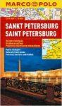 Szentpétervár térkép vízálló Marco Polo 2015 1:15 000